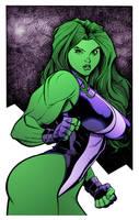 She-Hulk by Arthur Adams by DrDoom1081