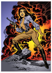 Valkyrie by Bruce Timm by DrDoom1081