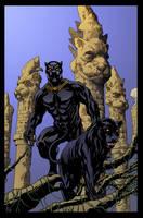 Black Panther by Mike McKone by DrDoom1081