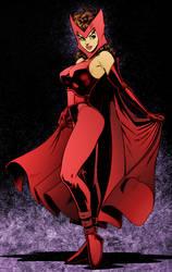Scarlet Witch by Arthur Adams by DrDoom1081