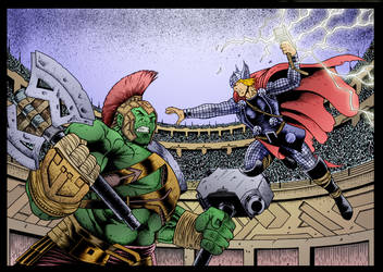 The Arena by John Howard by DrDoom1081