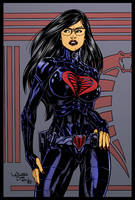 The Baroness by Wellington Diaz by DrDoom1081