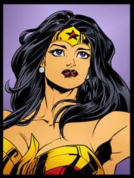 Wonder Woman 2 by Wellington Diaz by DrDoom1081