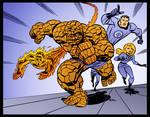 The Fantastic Four by Bruce Timm by DrDoom1081