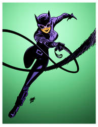 Catwoman by Cameron Stewart by DrDoom1081