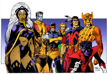 X-Men by Arthur Adams by DrDoom1081