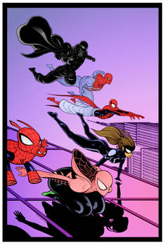 Web Warriors by Tradd Moore