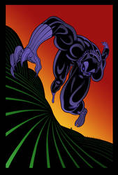 Black Panther by Tradd Moore