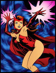 Scarlett Witch by Bruce Timm