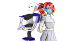 { Sensotale } - Papyrus and Undyne by kiwi-Mivi1END
