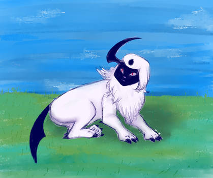 Absol by swearwolves