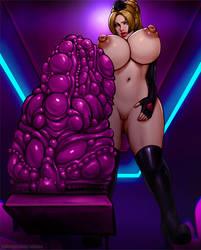 Rachel - Preshow (topless) by inknox