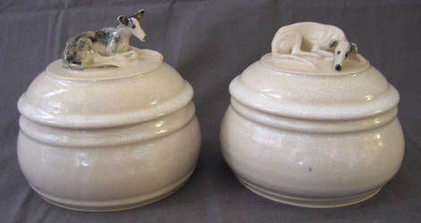 Cremation Urns for Whippets by anubistj