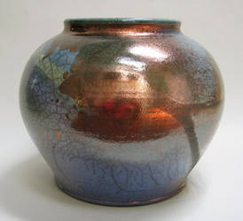 Large Raku Jar by anubistj