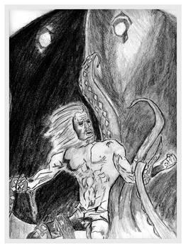 Sketch of Aquaman 01