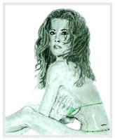 Sketch of Brooke Burke by chorvath8