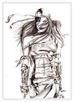 Sketch of Elektra by chorvath8