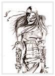 Sketch of Elektra