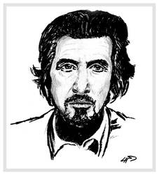 Sketch of Al Pacino by chorvath8
