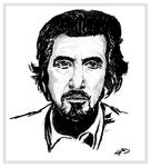 Sketch of Al Pacino