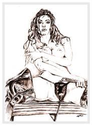 Sketch of a Sorayama Sketch by chorvath8