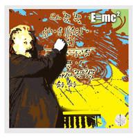 Digital Art of Albert Einstein by chorvath8