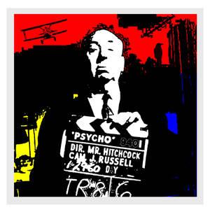 Digital Art of Alfred Hitchcock