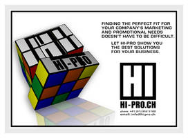 Graphic Design - Flyer: Hi-Pro by chorvath8