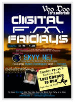 Graphic Design - Flyer: Skyy Net 01 by chorvath8