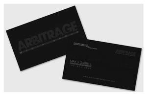 Business Cards - Arbitrage Media