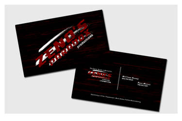 Business Cards - Zeno's Paradox by chorvath8