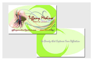 Business Cards - Make Up Artist