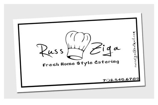 Business Cards - Home Catering