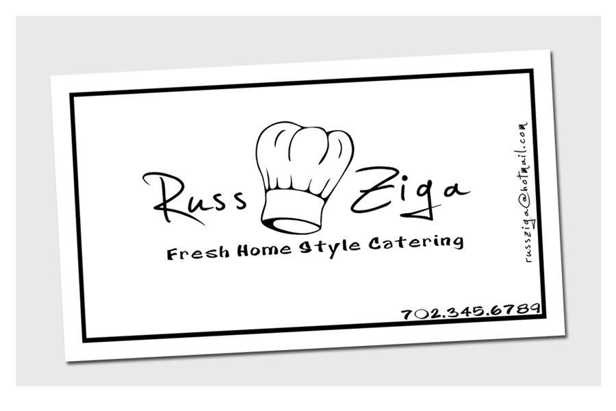 Business Cards - Home Catering by chorvath8 on DeviantArt