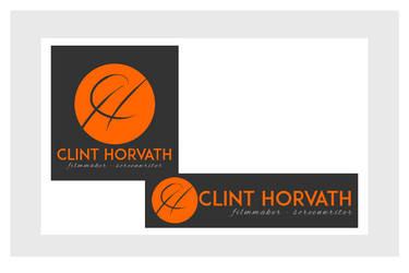Logo Design - Filmmaker / Screenwriter by chorvath8