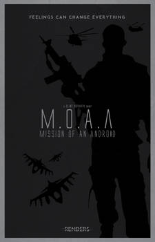 Minimalist Movie Poster - Mission of an Android