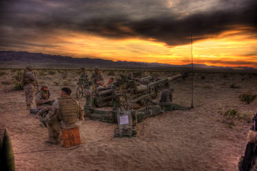 3-11 Howitzer HDR by ryecr