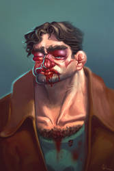 Ol' beatup boxer by Luka87