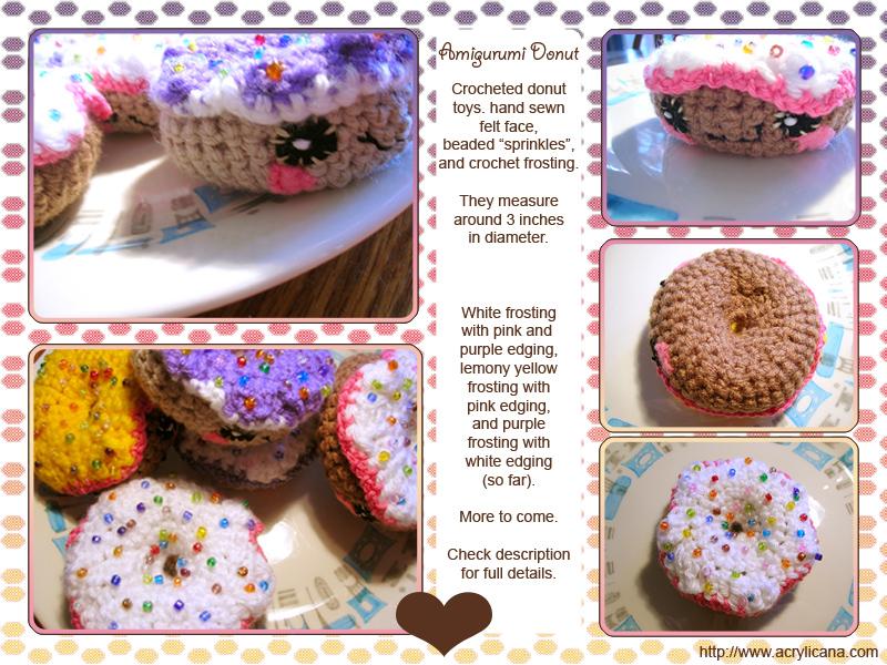 Mini Donuts Amigurumi : Amigurumi Donuts by tedsie on DeviantArt