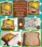 Toasty Cell Phone Holders