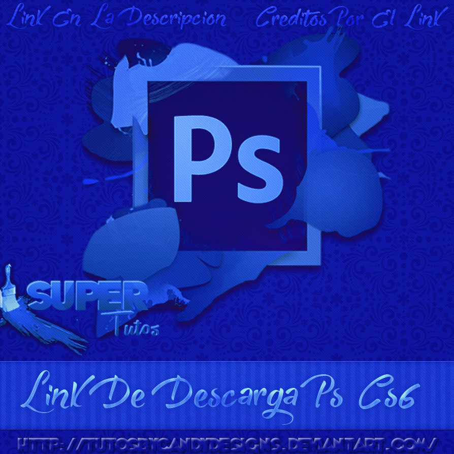 link de descarga photoshop cs6 by tutosbycandydesigns on