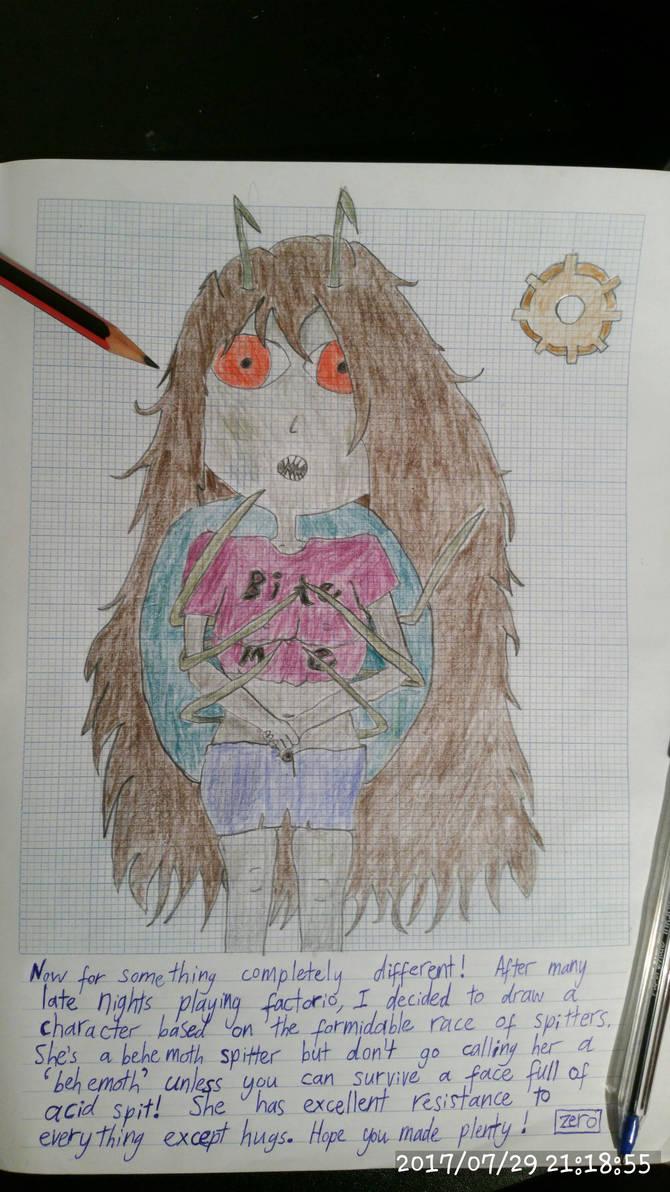 Spitter Girl - Factorio by ZeroKelvinKeyboard