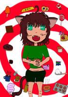 Myan Loves Sweets by ZeroKelvinKeyboard