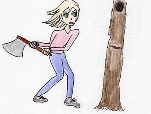 The Boy Who Felled A Tree