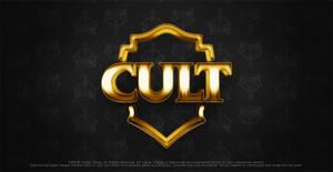 logo cult gold