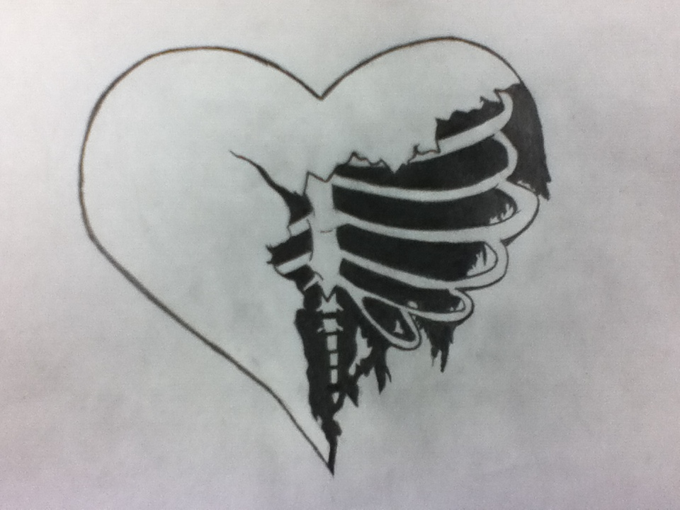 Pictures of Broken Heart Tumblr Drawings - #rock-cafe