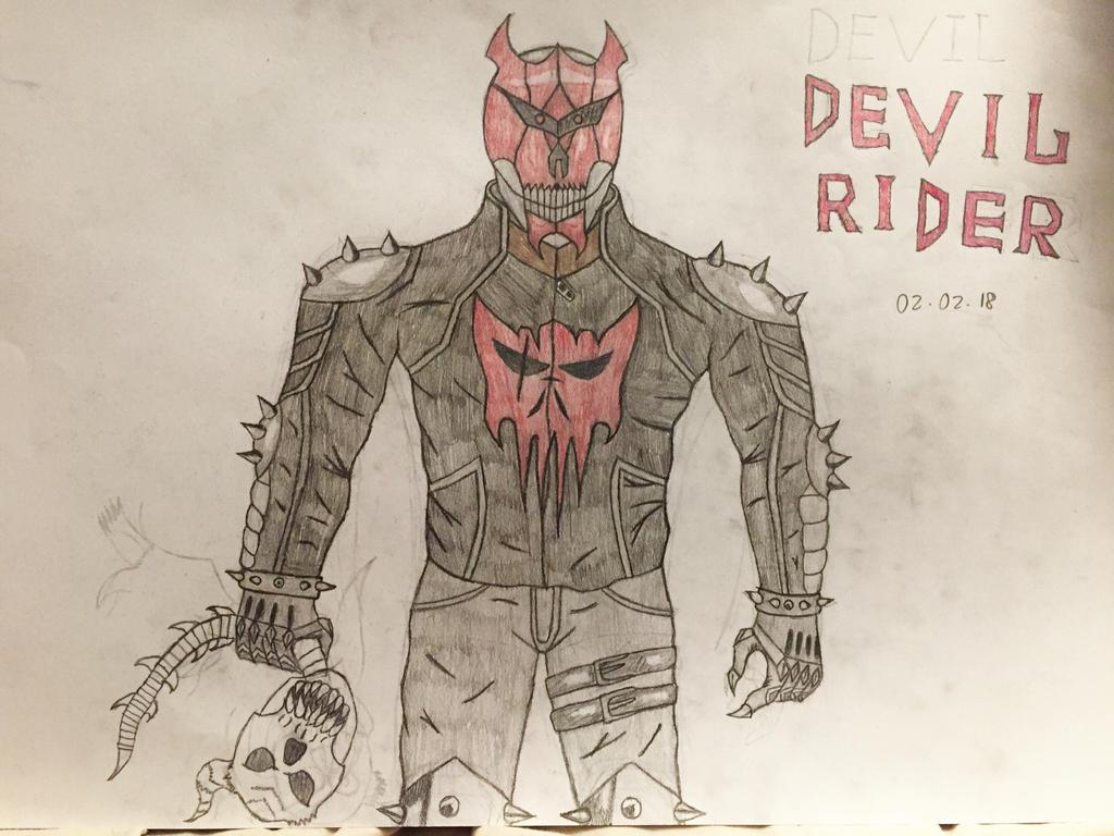 Devil Rider by AGuynamedJdogg