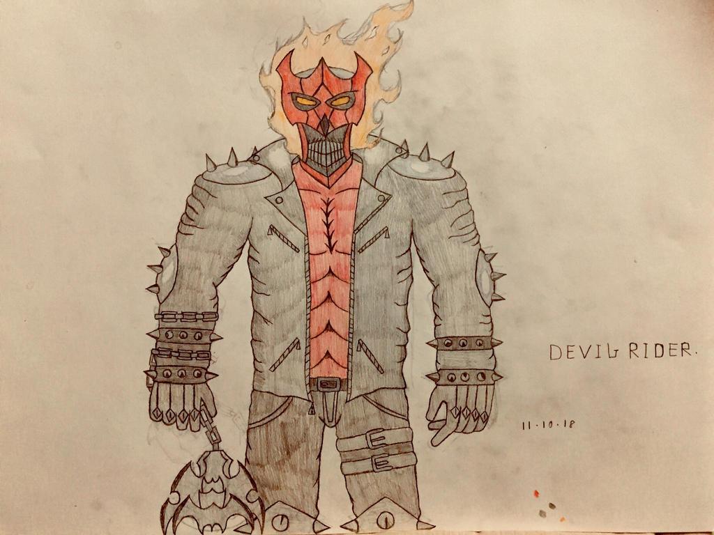 Devil Rider (upgrade design) by AGuynamedJdogg