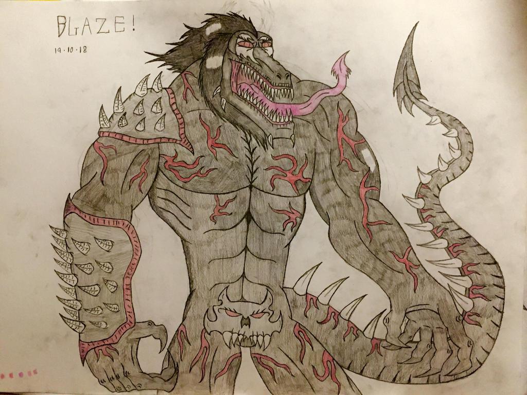 Blaze (Upgrade Design) by AGuynamedJdogg