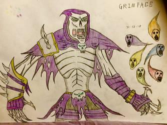 Grimface (Upgrade design) by AGuynamedJdogg
